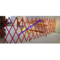 Quality retractable barrier fibreglass safety barrier for sale