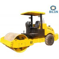 Buy 60HP 6 Ton Compactors Vibratory Smooth Drum Road Roller Back Wheel Mechanical Drive at wholesale prices