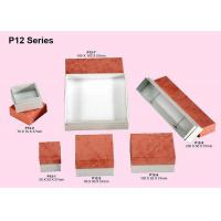 Quality Customized Paper Jewellery Box, Recyclable Cardboard Jewelry Packaging Boxes for sale
