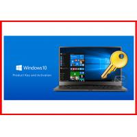 100% Genuine Product OEM Key , Win 10 Pro OEM Key License 32 / 64 Bit
