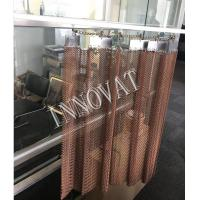 Quality Stainless/ Copper/ Aluminum Decorative Metal Chain Mesh Curtain for sale