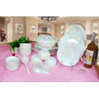 Quality Hotel Used Dinner Ceramic Plates Set for sale