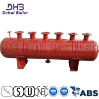 China Industrial Boiler Element , Steam Boiler Components Horizontal Reduce Emissions on sale