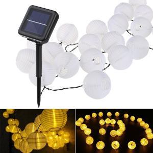 China 20LED Solar String Lights,Hanging Solar Lanterns Fairy Lights,Solar Led String Lights Outdoor on sale