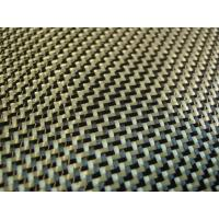 Quality yellow carbon aramid cloth for sale