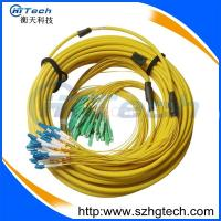 China Fiber Patch Lead Supplier SC-LC Fiber Jumper Multimode Orange Color