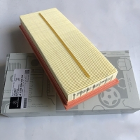 Quality Yellow A2780940004 Auto Air Filter , Mercedes-Benz Air Filter for sale