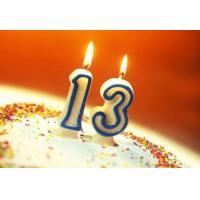 Buy Safe Custom Birthday Cake Candles , Little Number Wedding Anniversary Candles at wholesale prices