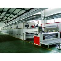 Quality Finishing Heat Setting Stenter Machine Gas Direct Heating 3 - 12m / Min for sale