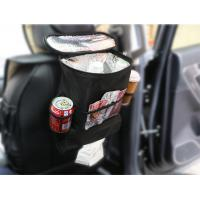 Quality Waterproof Car Passenger Seat Organizer In Oxford Material Black Color for sale