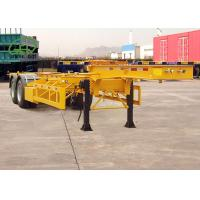 Quality Durable Skeleton Semi Trailer Container Transport Trailer Customized Color for sale