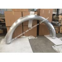 Quality 100mm Diameter Aluminum Mandrel Bends , Power Industry Curved Aluminum Tubing for sale