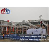 Line Array Lighting Rig Truss RT Aluminum Alloy 450X450mm Size Light Weight