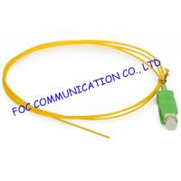 Quality SC / APC Corning optical fiber pigtail SM Hytrel Low Insertion Loss For ODF for sale