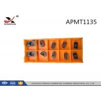Quality Indexable Tooling Milling Inserts Face Mill APMT1135 For CNC Tool Milling Cutter for sale