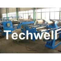 Quality Simple Steel / Metal Slitting Machine For Slitting 0.2 - 1.8 * 1300 Coil Into 10 Strips for sale