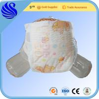 Quality Factory Price Breathable Magic Tape Baby Disposable Diaper In Bale for sale