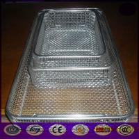 Quality China A wide variety of machining OEM , stainless steel wire sterilization basket for sale
