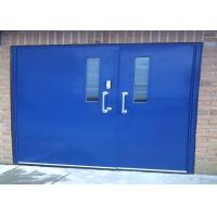 Quality European Standards Steel Fire Rated Industrial Garage Doors For Warehouse Storage for sale