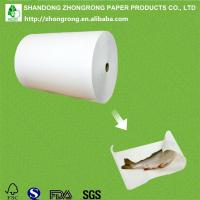 Quality fish wrapping paper with PE coated for sale