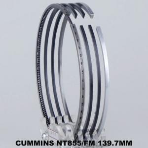 China NT855/FM Engine Piston Ring Piston Ring Set Automotive 139.7mm Ceramic Penetration on sale