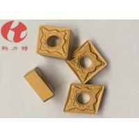 Quality CNMG120408-PMK CNC Turning Inserts Universal Chipbreakers Cuting Steel / Cast Iron for sale