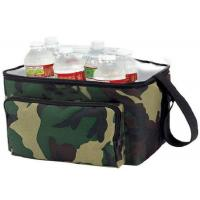 Quality OEM Design Nylon Material Insulated Wine Cooler Bag Double Deck Cooler Bag for sale