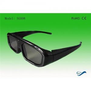 China IR Single Brand Active Shutter 3D TV glasses on sale