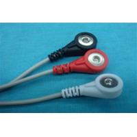 Quality 2012 NEW PRODUCT ECG CABLE 3 LEADS SNAP END for sale
