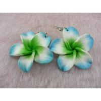 China 2011 Polymer Clay Fashion Flower Drop Earring on sale