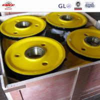 Buy OEM Lifting Machinery Finished Crane Sheave Alloy Steel For Cargo Crane at wholesale prices