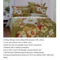 Quality comforters.with fabric cotton or microfiber polyester.the filling with cotton or polyester.any sizes and any color as yo for sale