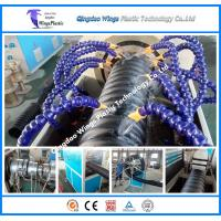 Quality Round HDPE carbon corrugated pipe extrusion line for sale