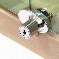 Quality Cabinet Swing Glass Door Lock for Double Doors, Available in Various Finishes for sale