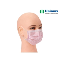 Quality EN 14683 Hygienic Unimax Disposable Surgical Face Mask for sale