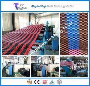 Quality Plastic PVC Anti Slip Floor Mat Production Line Extrusion Machine Extruder for sale