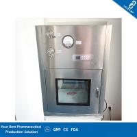 Quality Chemical Lab Clean Room Equipment / Dynamic Pass Box Excellent Flame Resistance for sale
