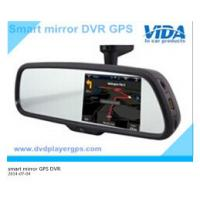 Quality DVR rearview mirror gps with Bluetooth Smart Operation System rearview mirror for sale