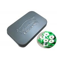 Quality Mini Hinged Rectangular Tin Cans For Jewelry Candy Box Coin Earrings Headphones Packing for sale