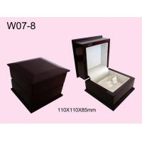 Buy Decorative Jewelry Packaging Boxes Oval Shape Metallic Logo at wholesale prices