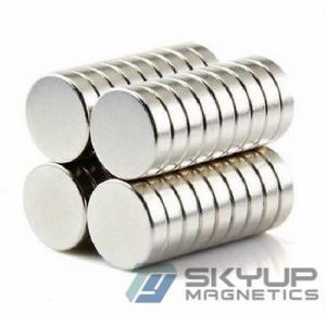 China Industrial Custom Neo N52 Ndfeb Permanent Disc Magnets Rare Earth Neodymium Magnet on sale