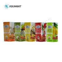 Quality Custom Printed Food Packaging Bags 110-130 Mic Thickness Eco Friendly For Snack for sale