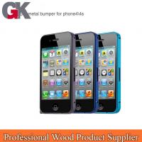 Quality aircraft grade aluminum for iphone 4 bumper case for sale