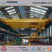 China Large Capacity China Overhead Electric Magnet Crane Magnet Lifting Crane on sale