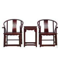 Quality three-piece new Chinese style tea table archaize furniture office armchair for sale