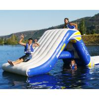 Quality inflatable water sports products,inflatable commercial water park toys ,floating slides for water park for sale