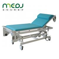 Buy cheap Automatic change of sheets Ultrasound Examination Table blue and white color from wholesalers