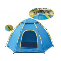 Quality Popular Fast Pitch Camping Tent for 3 to 4 Person Camping Dome Tent Easy Set Up Camping Tent(HT6054) for sale