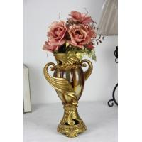 Quality Vintage Luxury  amber color table vase for sale