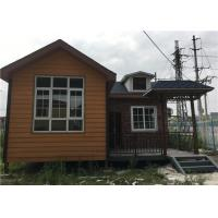 Quality 56㎡ Lightweight Cement Board Wall Prefab Steel House With Asphalt Shingle for sale